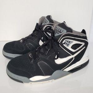 Nike Air Flight Falcon Black/White/CoolGrey #10